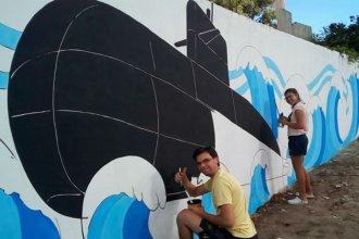 Artistas entrerrianos rescatan al ARA San Juan