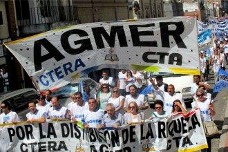 Agmer inicia la semana con movilizaciones departamentales y asambleas