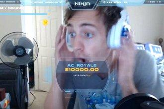 Ninja recibe una donación de 10.000 dólares