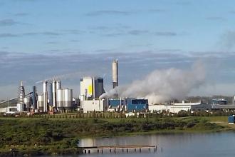 Admitieron haber contaminado el río Uruguay