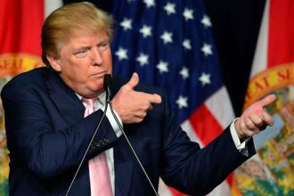Donald Trump es un nene grande y malcriado