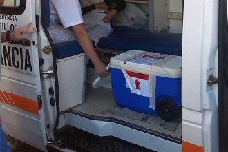 Directo a Mar del Plata, para salvar una vida