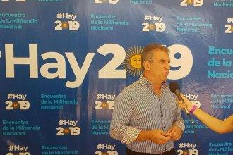 """Urribarri juega una nueva carta bajo la consigna """"Hay 2019"""""""