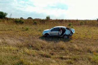 Dos personas murieron en accidente en la Ruta 12