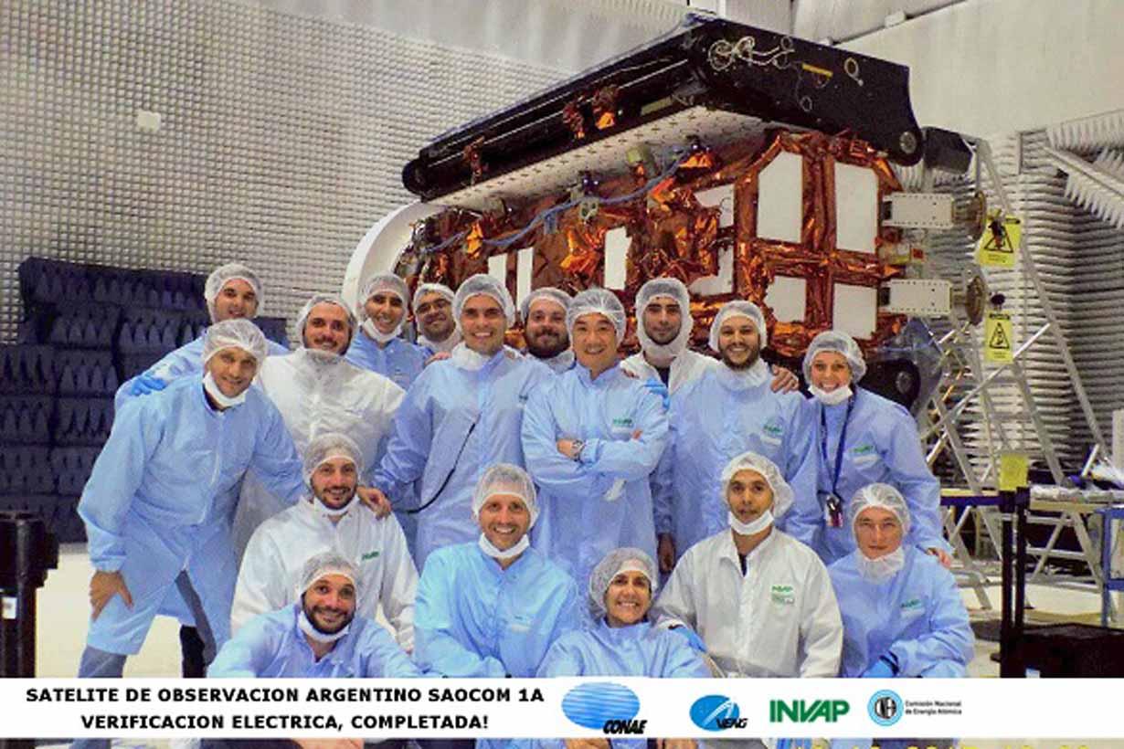 Lanzan esta noche el satélite argentino de observación con microondas