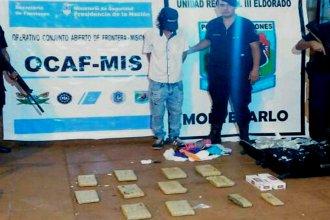Evitaron que 12 panes de marihuana arribaran a Entre Ríos
