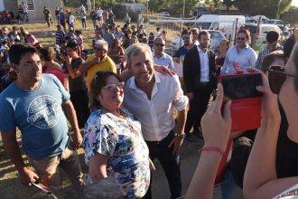 Frigerio llegó a San Benito a inaugurar 250 viviendas