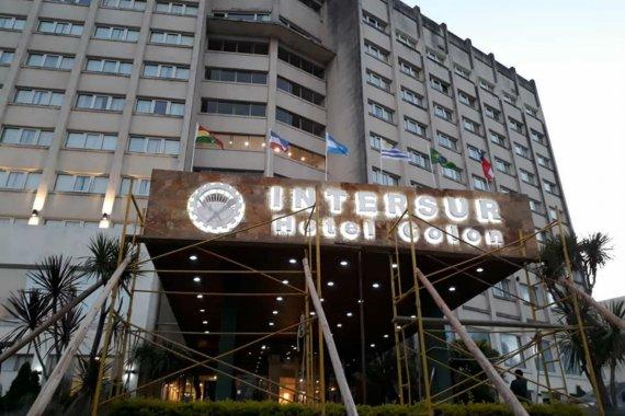 En el viejo Quirinale, Luz y Fuerza inaugura Intersur Hotel Colón
