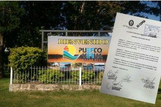 Diputados pidieron la intervención del municipio de Puerto Yeruá