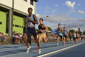 Comenzó el XVI Gran Prix de Atletismo en la pista de Concepción del Uruguay