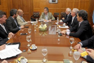 Emergencia agropecuaria: Etchevehere se reunió con la Mesa de Enlace
