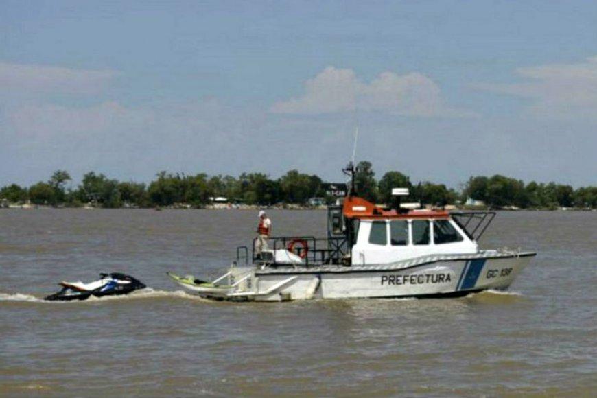 Intensa búsqueda de un policía que cayó al río Paraná — Entre Ríos