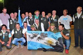 36 años después, los héroes de Malvinas desembarcaron en la costa del Río Uruguay