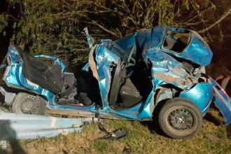 Choque en ruta 12: Murió uno de los jóvenes que viajaban hacia Buenos Aires