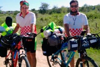 Dos amigos entrerrianos pedalearán hasta México