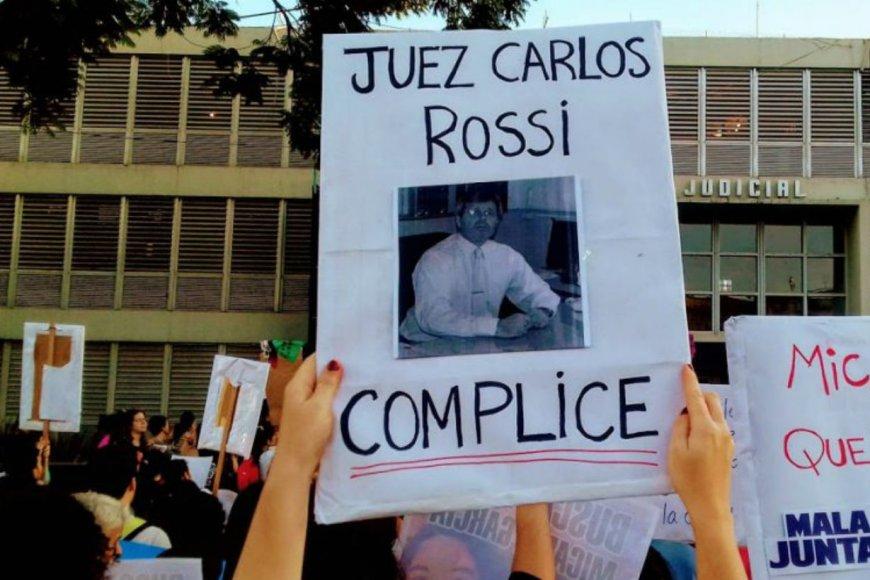 Tras el crimen de Micaela, Rossi fue cuestionado.
