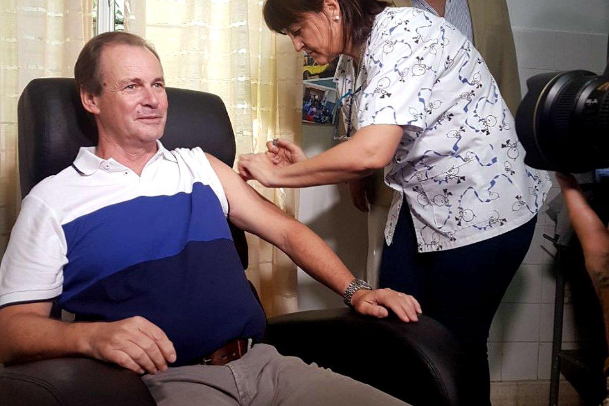 Lanzamiento del programa de vacunación antigripal