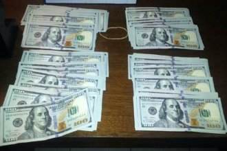 Intentaba vender 20 mil dólares falsos y fue detenido