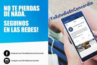 Lanzan la campaña #YoEstudioEnConcordia