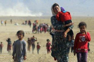 Refugiados sirios llegaron a Entre Ríos