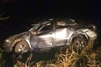 Violento vuelco dejó dos muertos en el sur entrerriano