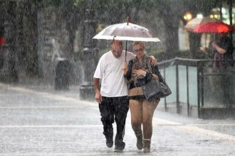 Lluvias y descenso de temperatura, en el pronóstico para Entre Ríos