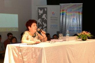 Habló la sobreviviente del Holocausto, una niña escondida
