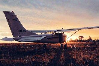 Enfrentamiento armado: Quisieron robar un avión en un aeropuerto de la costa del Río Uruguay