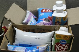 Retiran del mercado lotes de famoso yogur