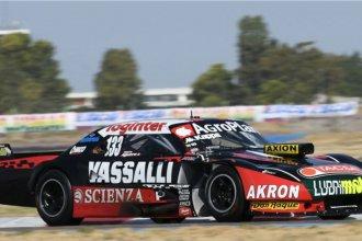 Valentín Aguirre se quedó con la pole provisional