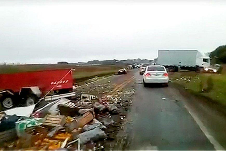 Son oriundos de Nogoyá los fallecidos en trágico choque sobre Ruta 12