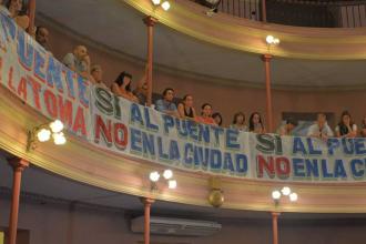 Reclaman que se informe el impacto ambiental del Puente Paraná-Santa Fe