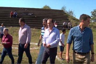 Con fecha estimada para finalizarlo, otro gobernador anuncia obras para el estadio de fútbol
