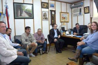 Funcionarios nacionales y municipales se reunieron por los programas de vivienda