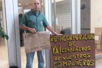 """Trabajador acusa a diputado entrerriano de quitarle """"el pan a mis hijos"""""""