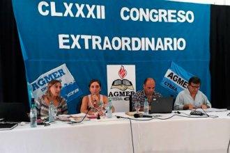 Agmer volvió a rechazar la oferta del gobierno y podría haber nuevos paros