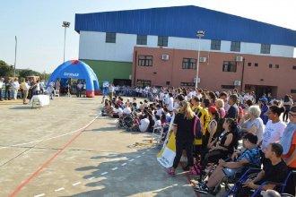 Casi 300 jóvenes participaron del Encuentro de Deportes Adaptados