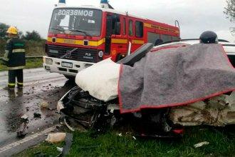 Falleció un hombre en fatal accidente en ruta entrerriana