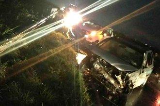 Camión de YPF protagonizó un triple choque en ruta entrerriana