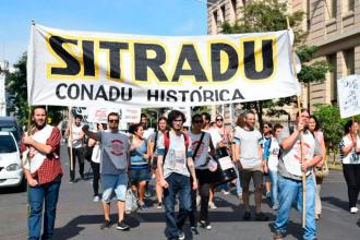 """Sitradu demandó un """"posicionamiento claro frente a las políticas de ajuste"""""""