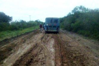 Tras la caída de 250 mm de lluvia en la provincia, Vialidad recomienda transitar con precaución