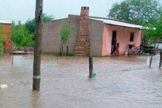 El desborde de un arroyo obligó a evacuar familias en el norte entrerriano