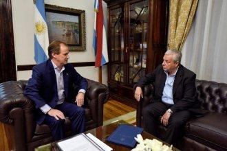 """Bordet dialoga """"con los intendentes sobre el desenvolvimiento de las gestiones"""""""