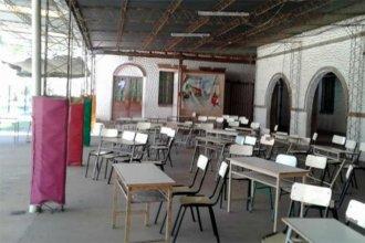 Suspendieron las clases: hay peligro de electrificación en las paredes