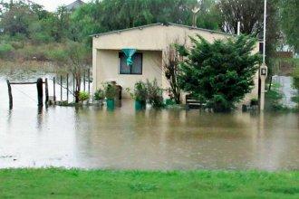 Después de las lluvias, inundaciones y caminos intransitables