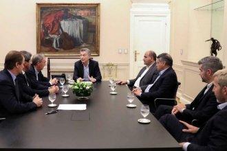"""Negociación con el FMI: La reunión entre Macri y los gobernadores fue """"muy positiva"""""""