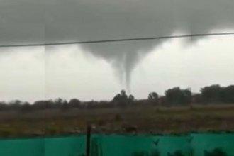 """Video: susto por un """"mini tornado"""""""