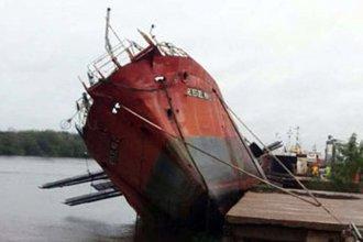 """Barco hundido: """"Se escuchaba cómo se partían las chapas"""""""