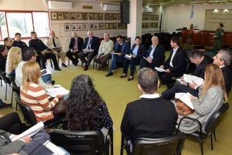 Se reunió el Consejo de Seguridad Ciudadana de la Histórica