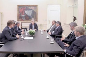 Presupuesto 2019: Bordet, entre los gobernadores que se reunieron en Casa Rosada